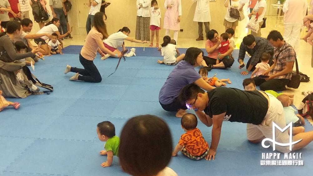 新竹馬偕寶寶爬行大賽10
